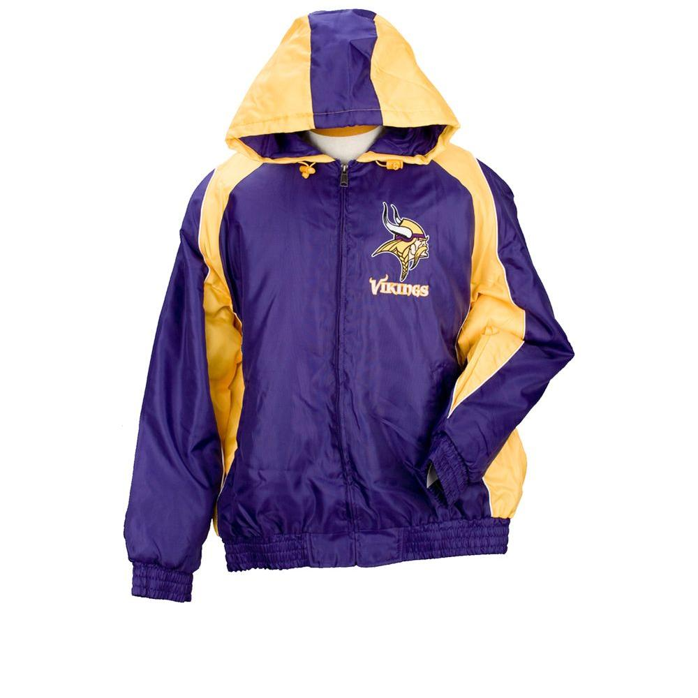 3G NFL Licensed Vikings Winter Coat Size L-DISCONTINUED