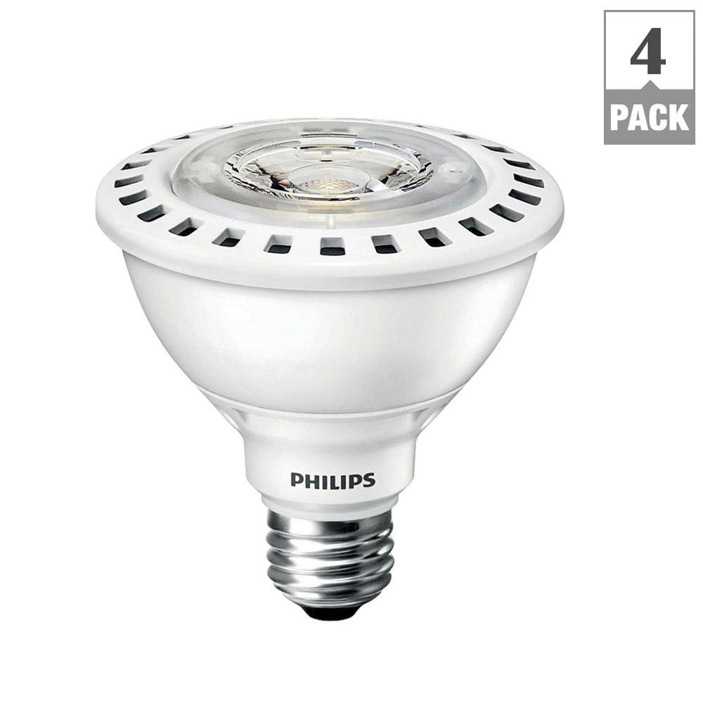 Philips 75 watt equivalent par30s led flood ulw indooroutdoor philips 75 watt equivalent par30s led flood ulw indooroutdoor bright white 4 workwithnaturefo