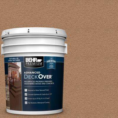 5 gal. #SC-158 Golden Beige Textured Solid Color Exterior Wood and Concrete Coating