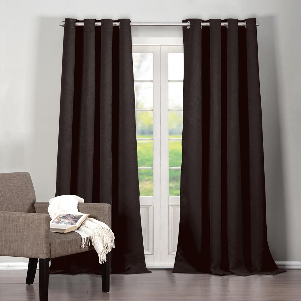 Duck River Quincy 38 In X 84 L Polyester Blackout Curtain Panel