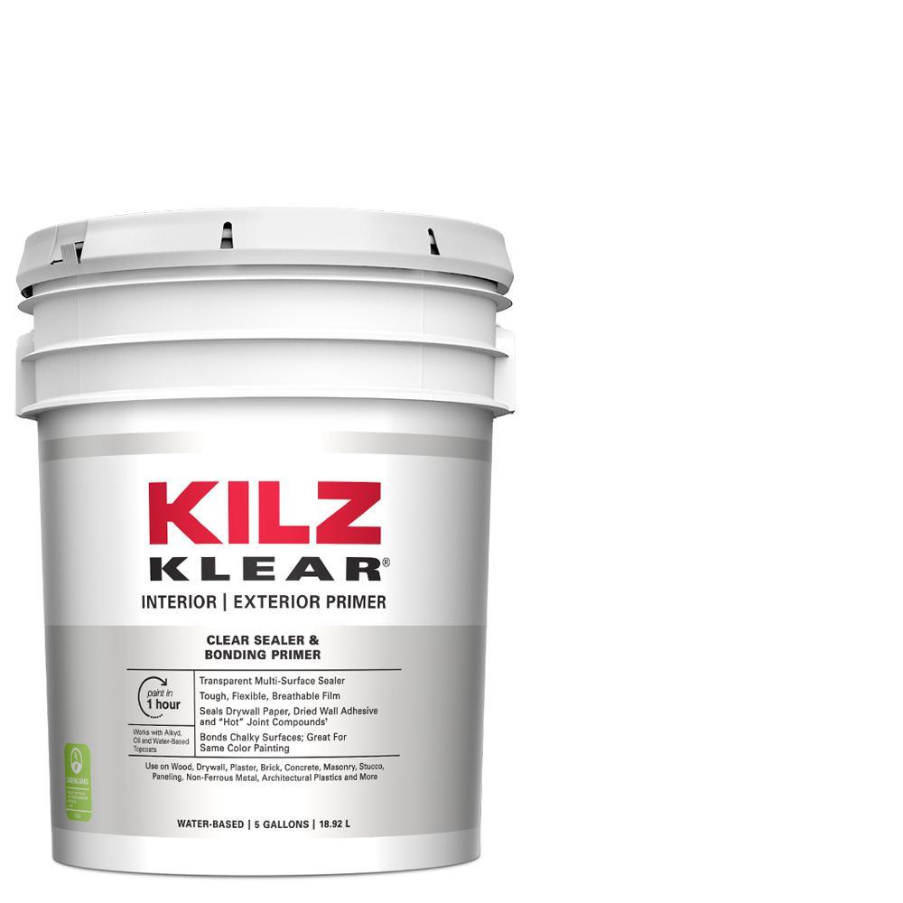 Kilz Klear 5 Gal Interior Exterior Multi Surface Primer And