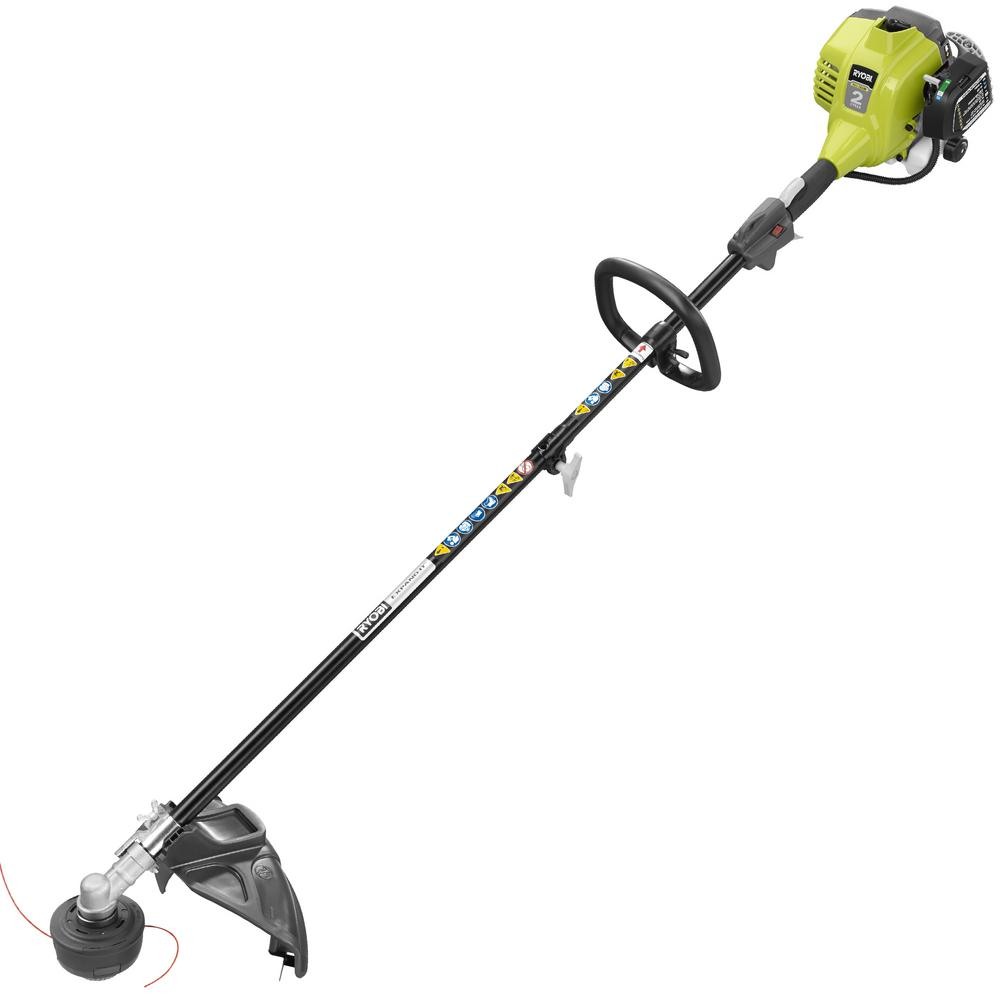 Ryobi 2-Cycle 25cc Gas Full Crank Straight Shaft String Trimmer