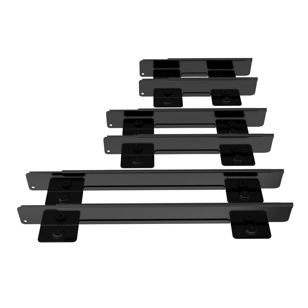 Husky Husky Adjustable 8 in. to 24 in. Magnetic Drawer Divider 6-piece set