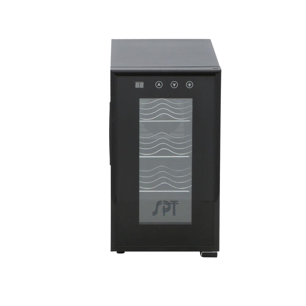 8-Bottle Thermoelectric Wine Cooler with Heating