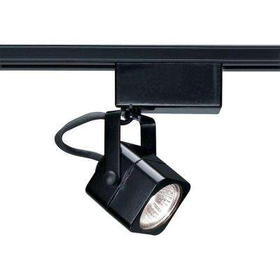 1-Light MR11 12-Volt Black Mini Square Track Lighting Head