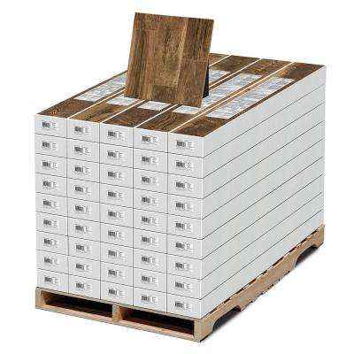 Aged Wood Fusion 12 mm Thick x 6-3/16 in. Wide x 50-3/4 in. Length Laminate Flooring (697.6 sq. ft. / pallet)