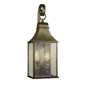 Revere Collection 2 Light Flemish Outdoor Wall Mount Lantern