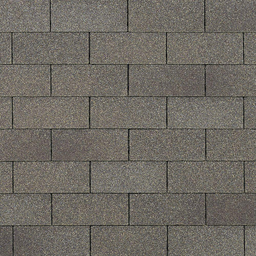 Owens Corning Supreme Algae Resistant Driftwood 3 Tab Asphalt Roofing Shingles 333 Sq Ft Per Bundle PM30