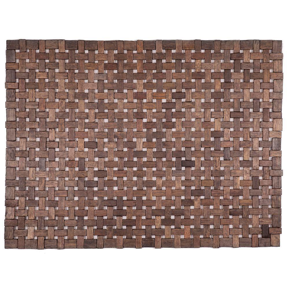 Douglas Black 18 in. x 30 in. Exotic Wood Mat