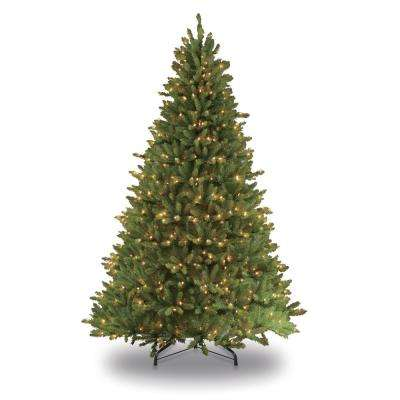 6.5 ft. Pre-Lit Incandescent Fraser Fir Artificial Christmas Tree with 500 UL Clear Lights