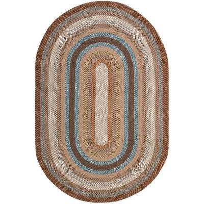 earth design cievi oval rug braided home ideas rugs homely simple by