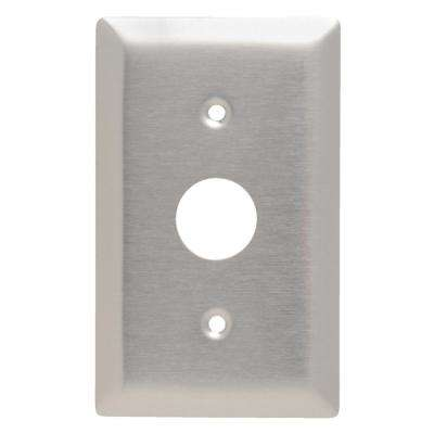 KL Series 1-Gang Locking Switch Wall Plate in Stainless Steel