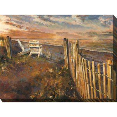 "40 in. x 30 in. ""Front Row Seats"" Outdoor Canvas Wall Art"