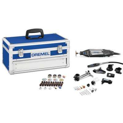 4200 Series 1.6 Amps Corded Ultimate Variable Speed Rotary Tool Kit with 76 Accessories and Hard Case