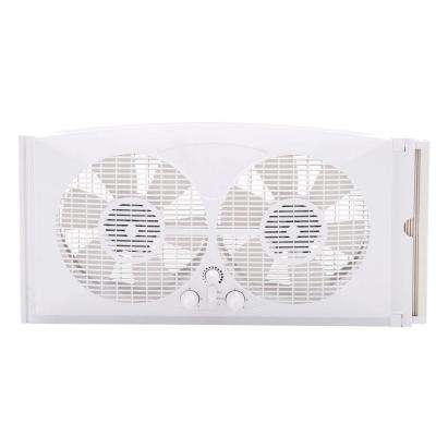 9 in. Twin Window Fan