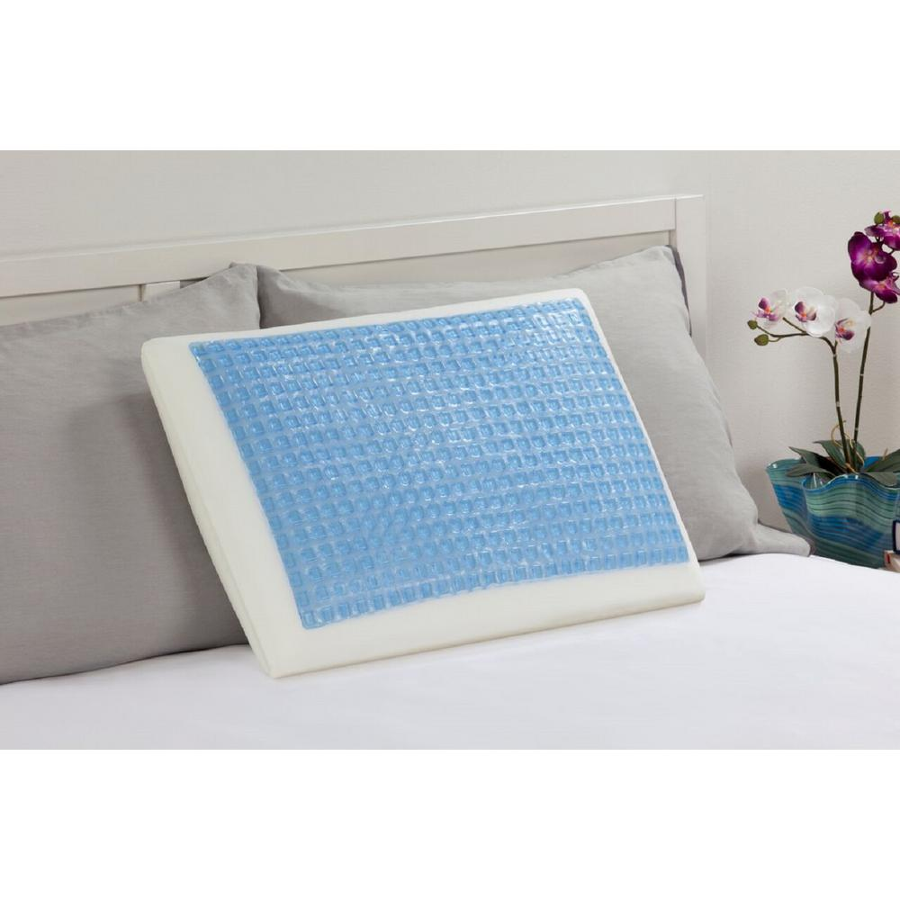 Memory Foam and Hydraluxe Gel Bed Standard Pillow