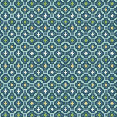 Alana Tile Fabric by The Yard