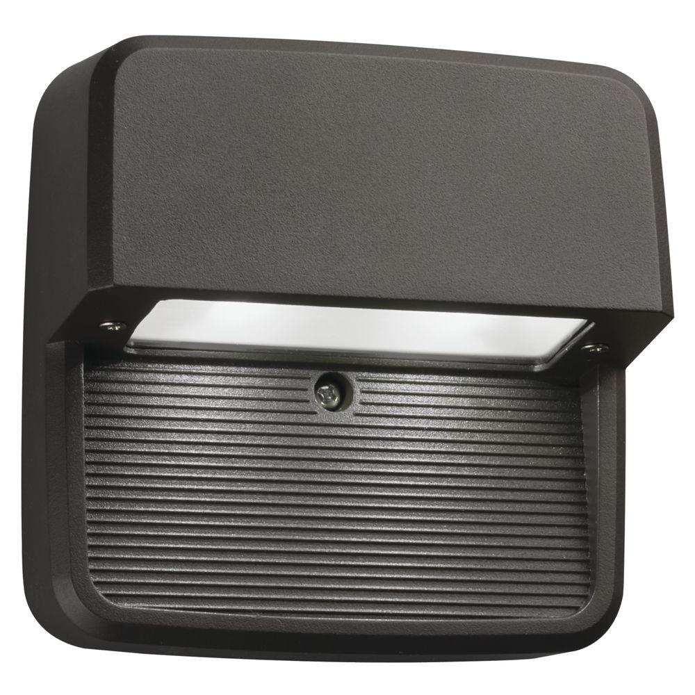 Bronze Integrated LED Square Step and Stair Deck Light
