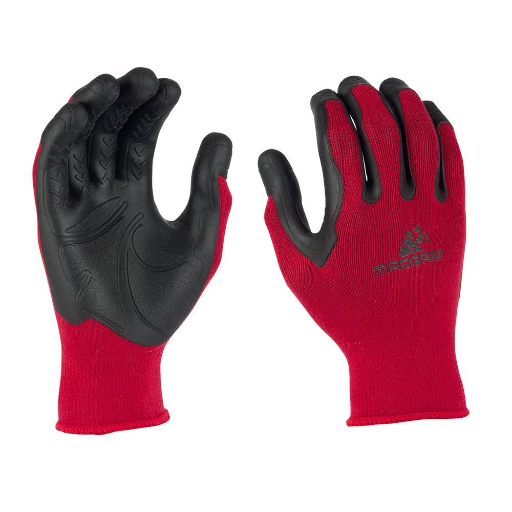 Mad Grip Pro Palm XX-Large Flex Glove in Red/ Black