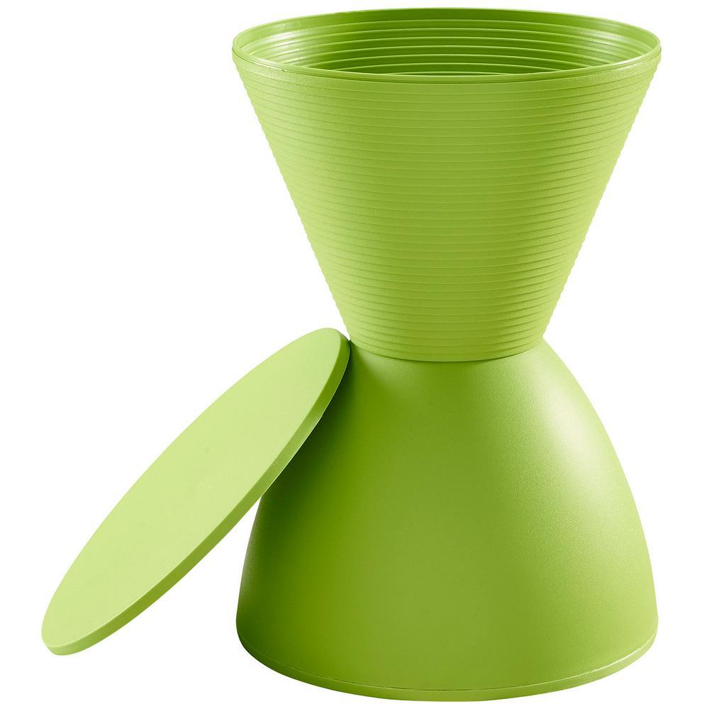 Swell Modway Haste Green Stool Eei 1699 Grn The Home Depot Alphanode Cool Chair Designs And Ideas Alphanodeonline