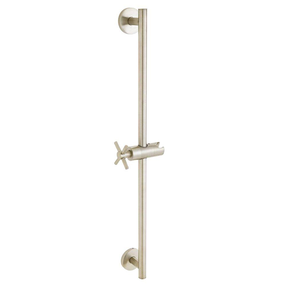 Speakman Neo 25-3/4 in. Shower Slide Bar in Brushed Nickel