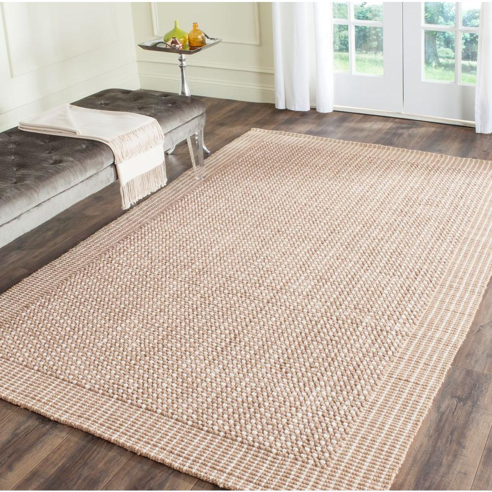 Safavieh Natural Fiber Ivory Beige 8 Ft X 10 Ft Area Rug