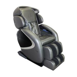 +2. TITAN Osaki Gray Faux Leather Reclining Massage Chair