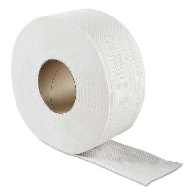 JRT 8.85 in. Dia x 3.3 in. x 500 ft. White 2-Ply Jumbo Bath Tissue (12/Carton)