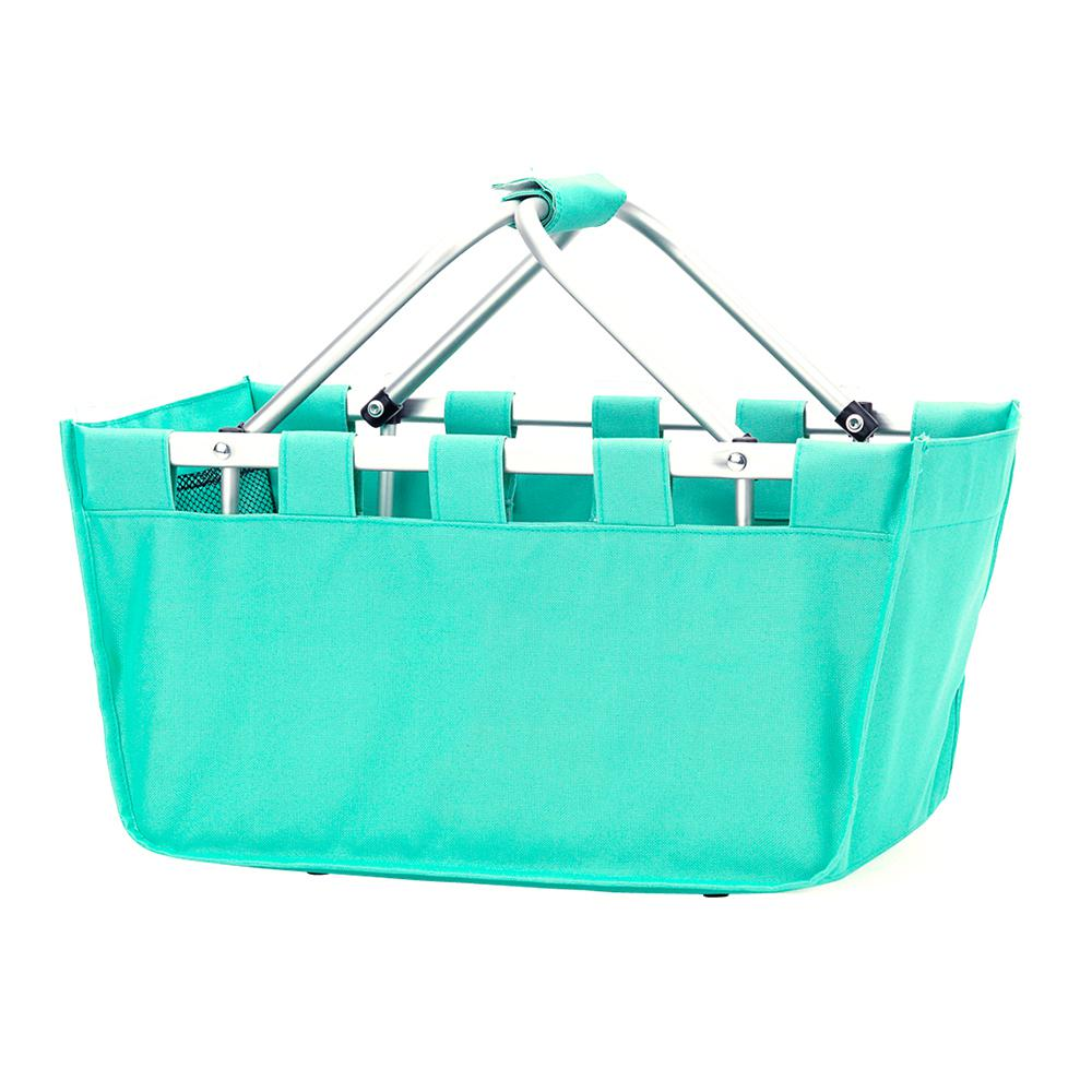 Mint (Green) Polyester Market Tote Bag, Women's