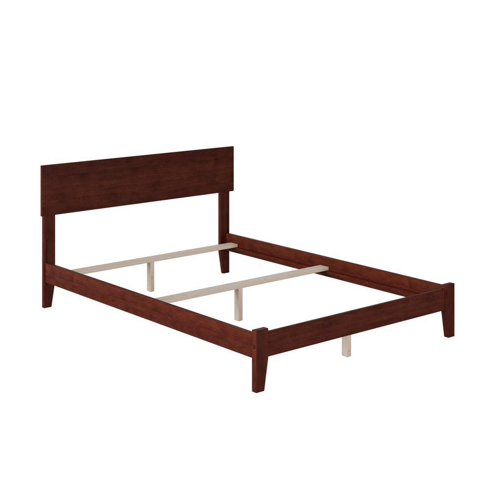 Orlando Walnut Full Traditional Bed