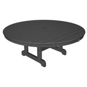Trex Outdoor Furniture Cape Cod Stepping Stone 48 inch Round Outdoor Conversation Table by Trex Outdoor Furniture