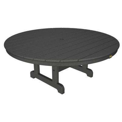 Cape Cod Stepping Stone 48 in. Round Outdoor Conversation Table