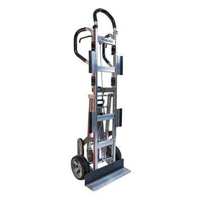 800 lb. Capacity Appliance Hand Truck with Dual Shepherd Handle 4th Wheel Attachment Break Back Bar and Wings
