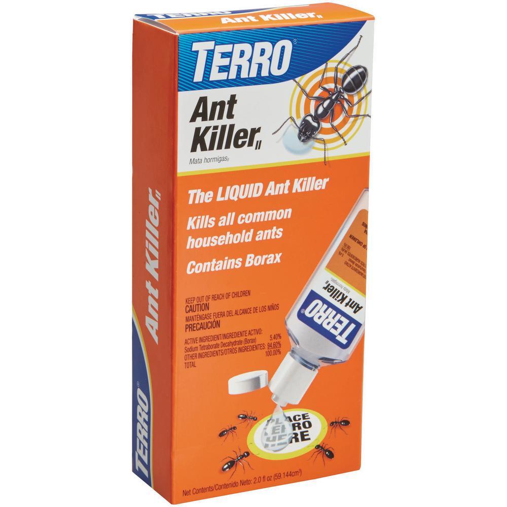Terro 2 Oz Indoor Liquid Ant Killer T200v The Home Depot