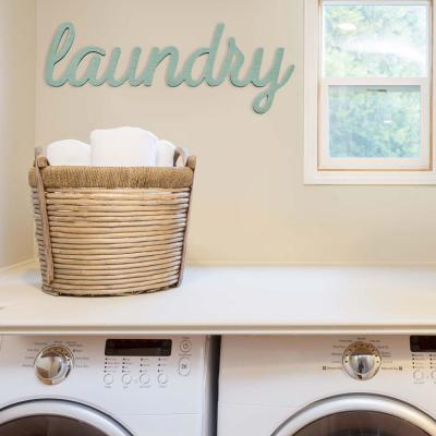 Indoor Laundry Decorative Sign