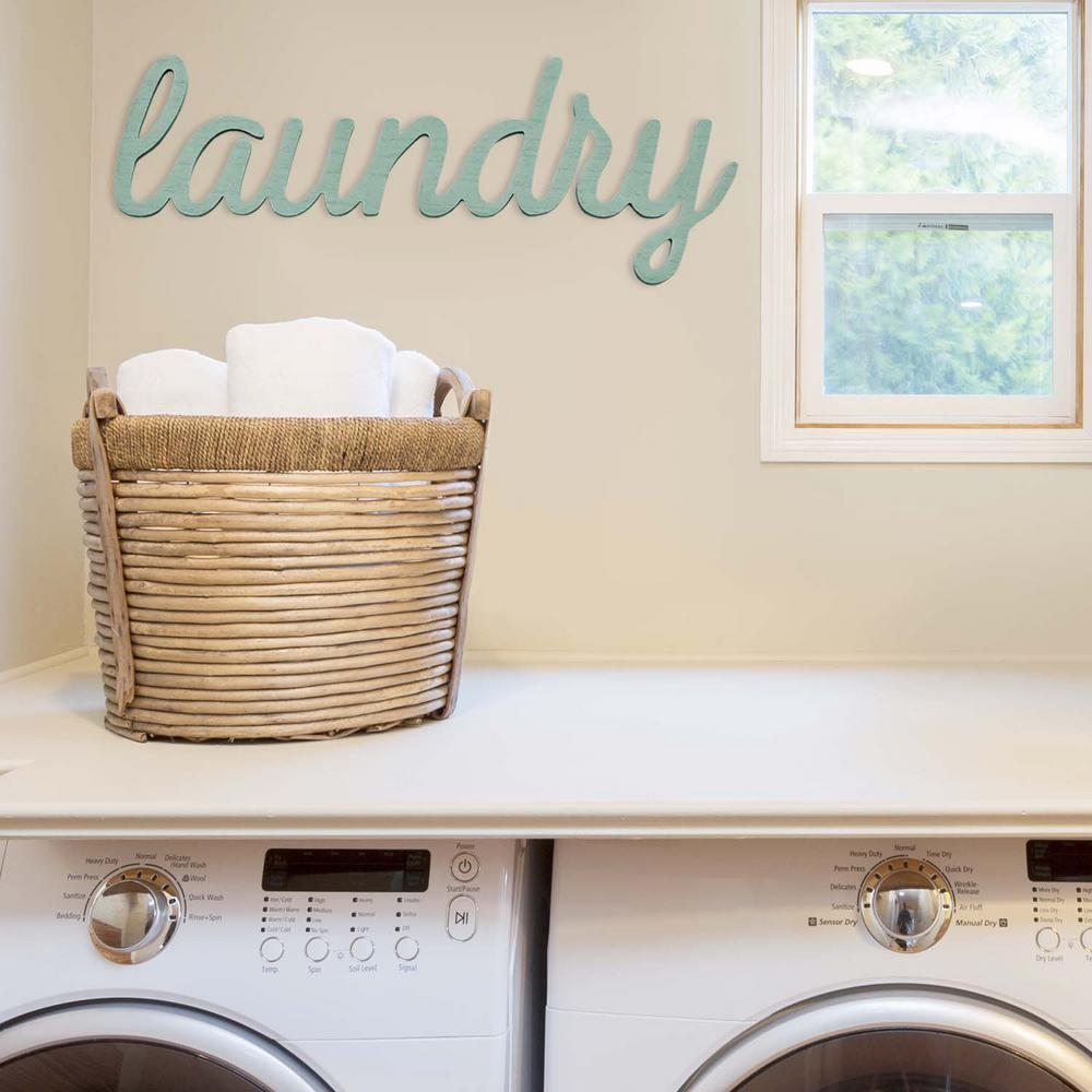 Stratton Home Decor Indoor Laundry Decorative Sign