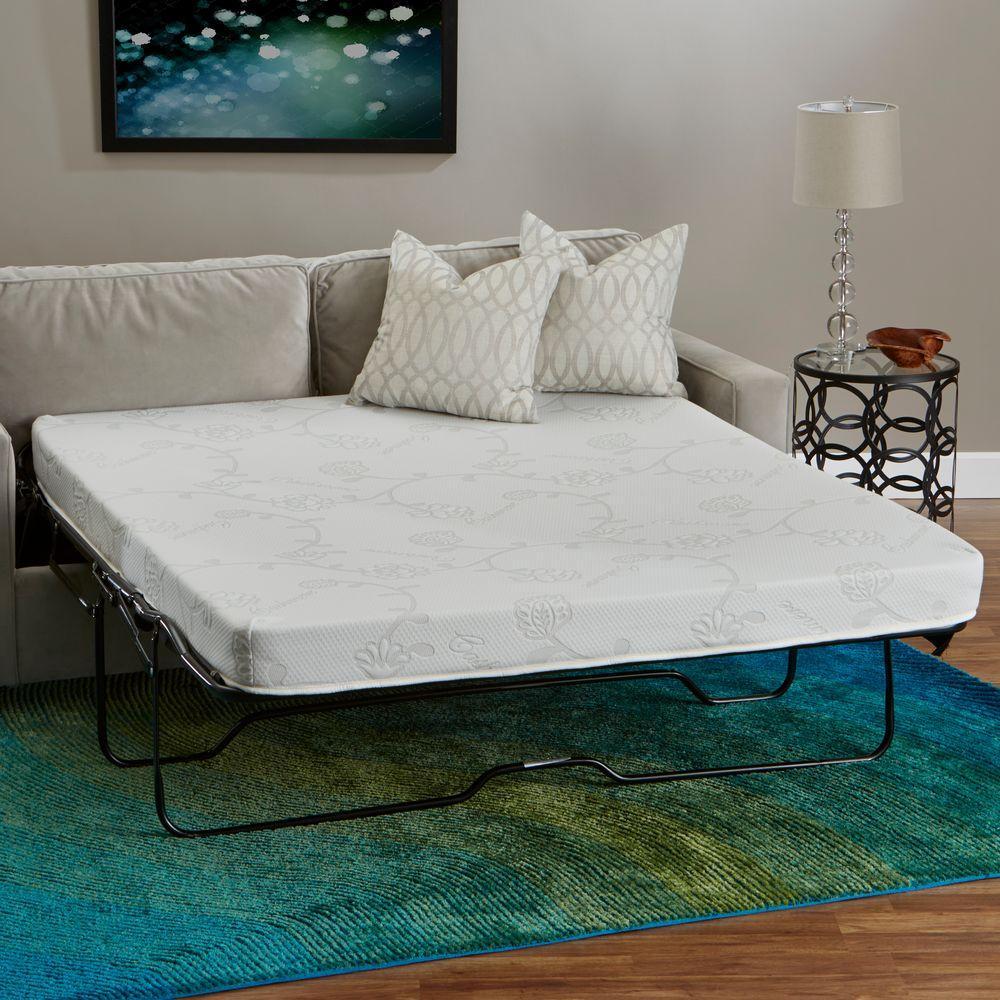 InnerSpace Luxury Products InnerSpace FullSize Foam Sleeper Sofa