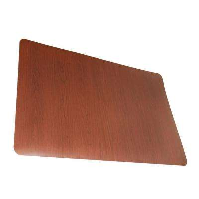 Soft Woods Walnut 24 in. x 36 in. Vinyl Anti Fatigue Floor Mat