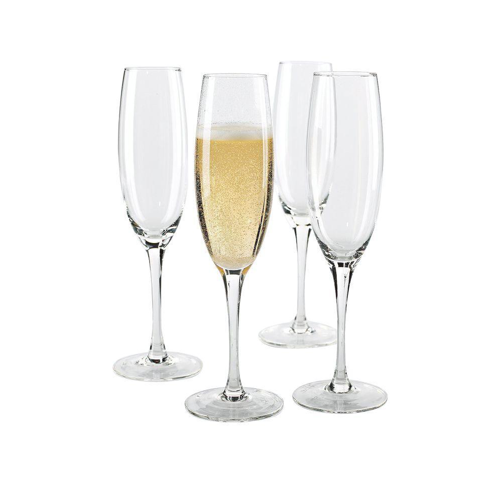 8 oz. Fusion Classic Champagne Flutes