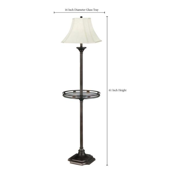 Burnished Bronze Floor Lamp