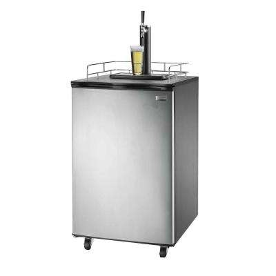 6.1 cu. ft. Kegerator Beer Bar with Single Tap