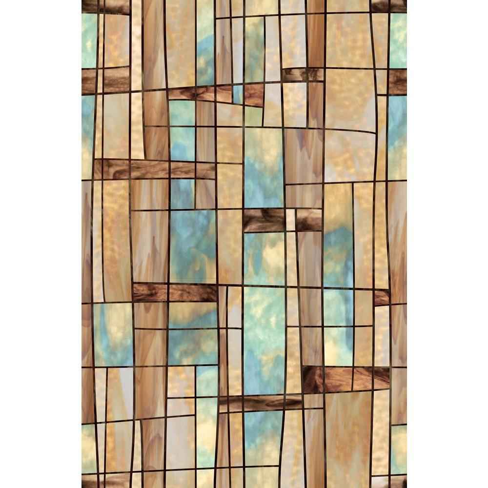 Artscape 24 in x 36 in city lights decorative window for Fancy window design