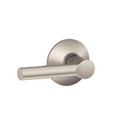 Broadway Satin Nickel Passage Hall/Closet Door Lever