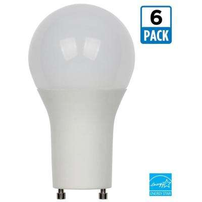 60W Equivalent Soft White Omni A19 Dimmable LED Light Bulb (6-Pack)