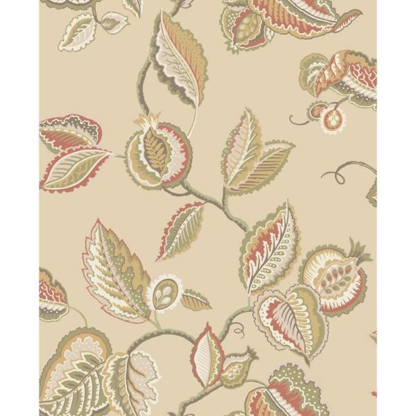 York Wallcoverings Waverly Classics Fantasy Fleur