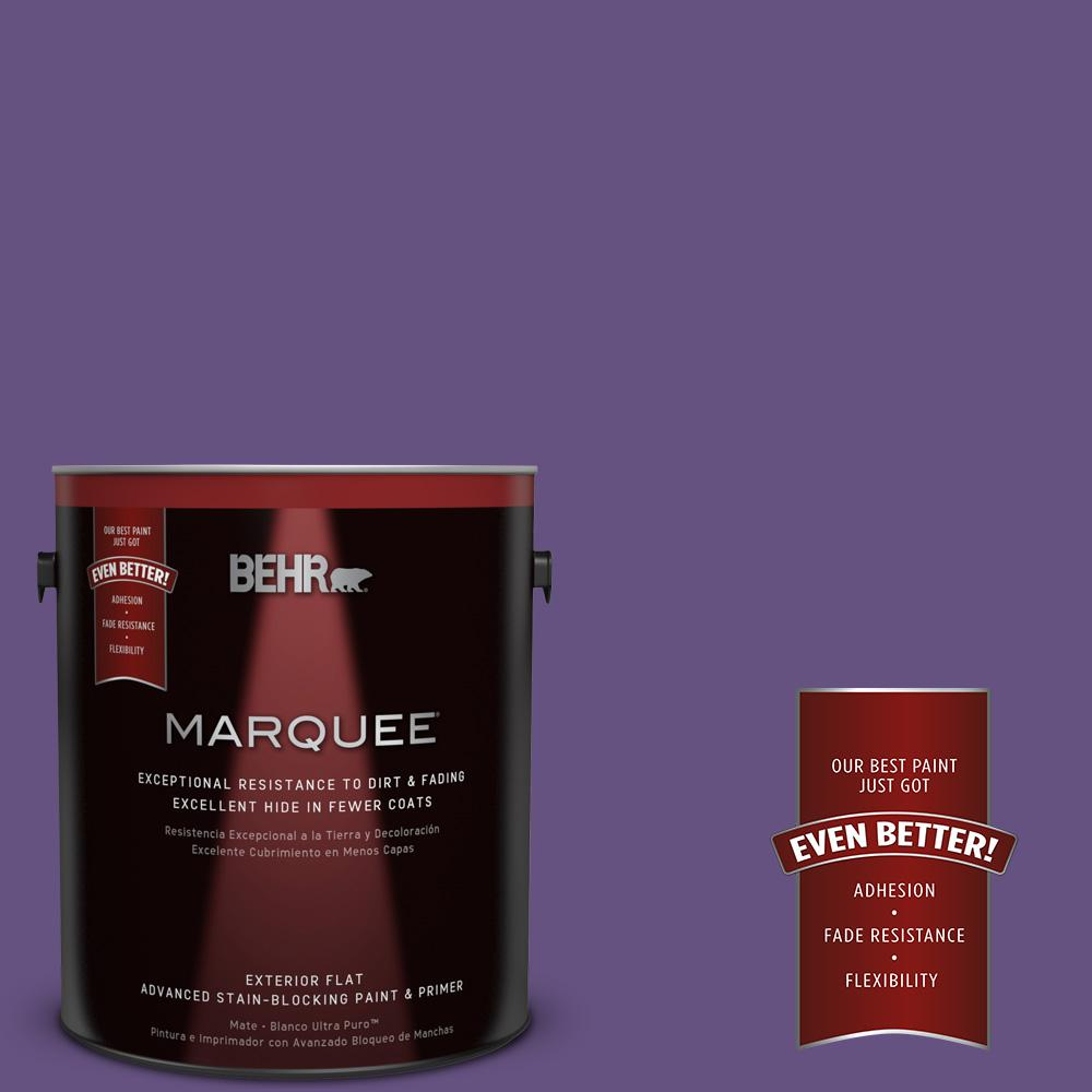 BEHR MARQUEE Home Decorators Collection 1-gal. #HDC-MD-25 Virtual Violet Flat Exterior Paint