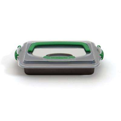 Perfect Slice Carbon Steel Cake Pan with Slicing Tool