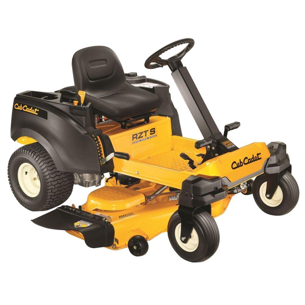 Cub Cadet RZT S 50 in. 23 HP V-Twin Dual Hydrostatic Gas Zero-Turn Riding Mower with Steering Wheel Control