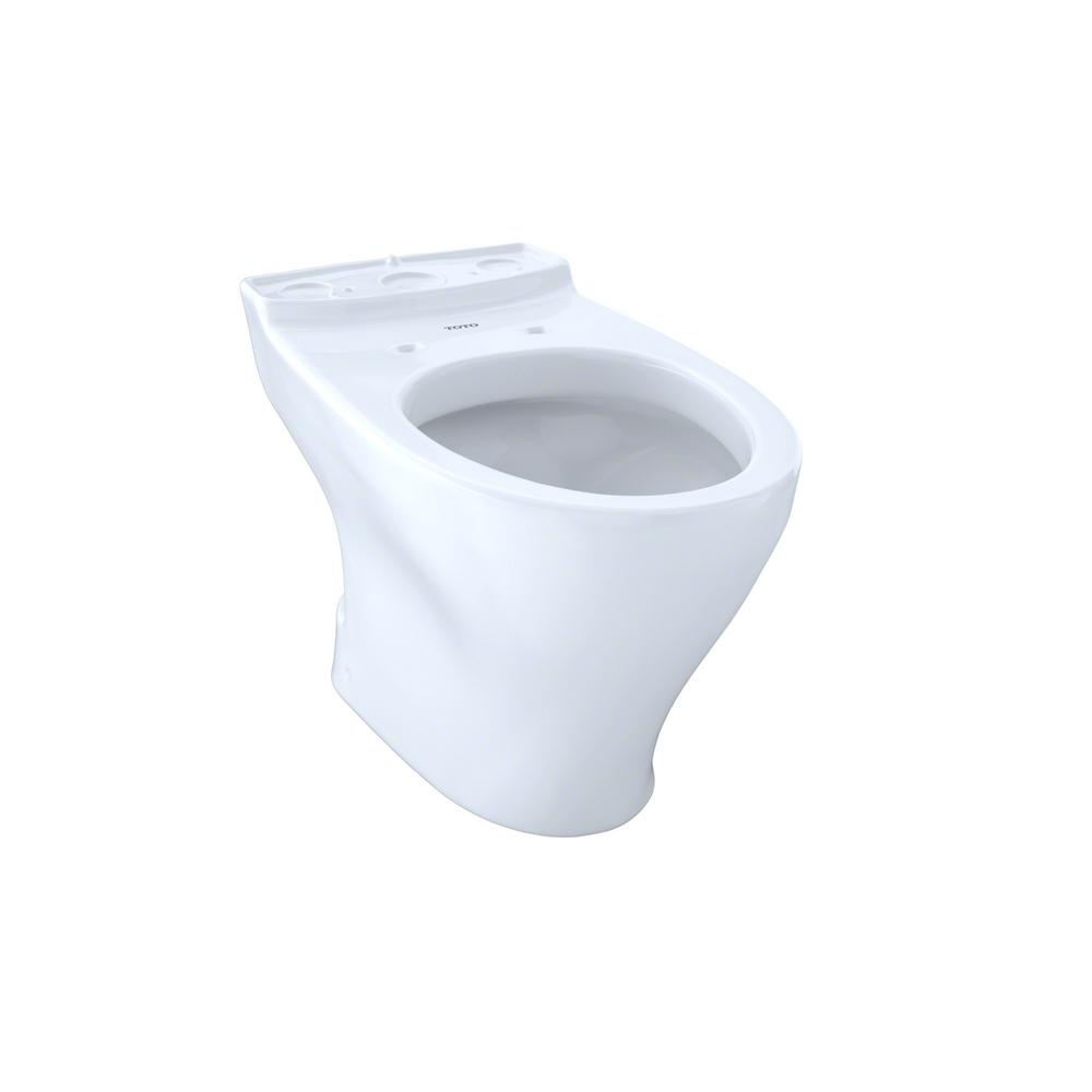 Toto Aquia II Elongated Toilet Bowl Only in Cotton White
