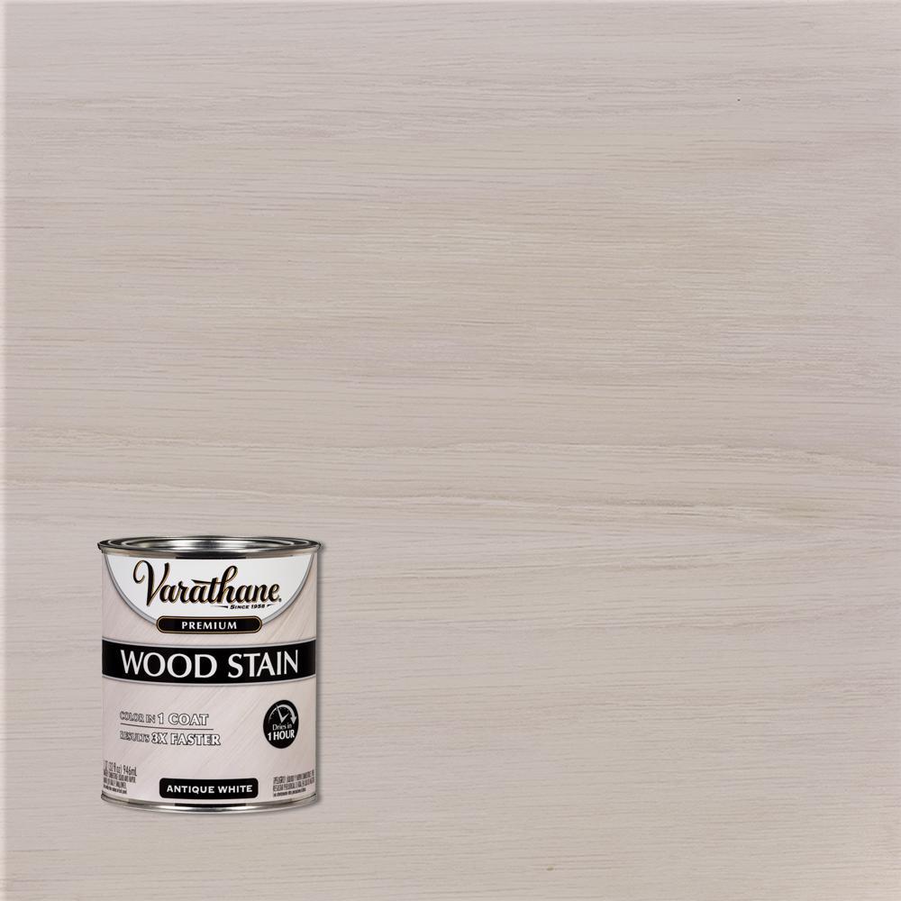 1 qt. Antique White Premium Fast Dry Interior Wood Stain